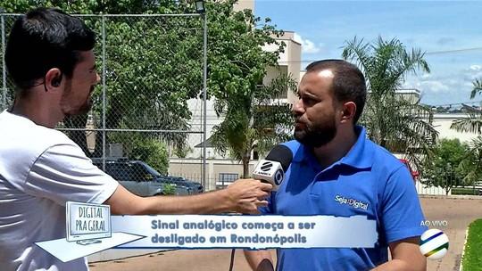 Falta um dia para o desligamento do sinal analógico em Rondonópolis