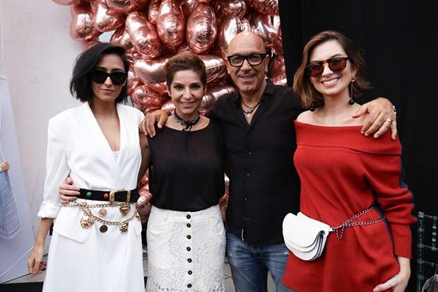 Francesca Monfrinatti, Sandra de Souza Silva, Raphael Sahyoun e Van Duar (Foto: Divulgação)