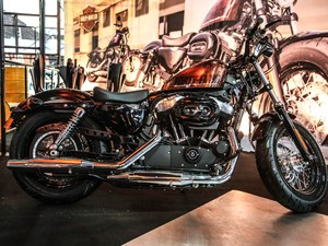 Harley-Davidson Forty-Eight (Foto: Raul Zito/G1)