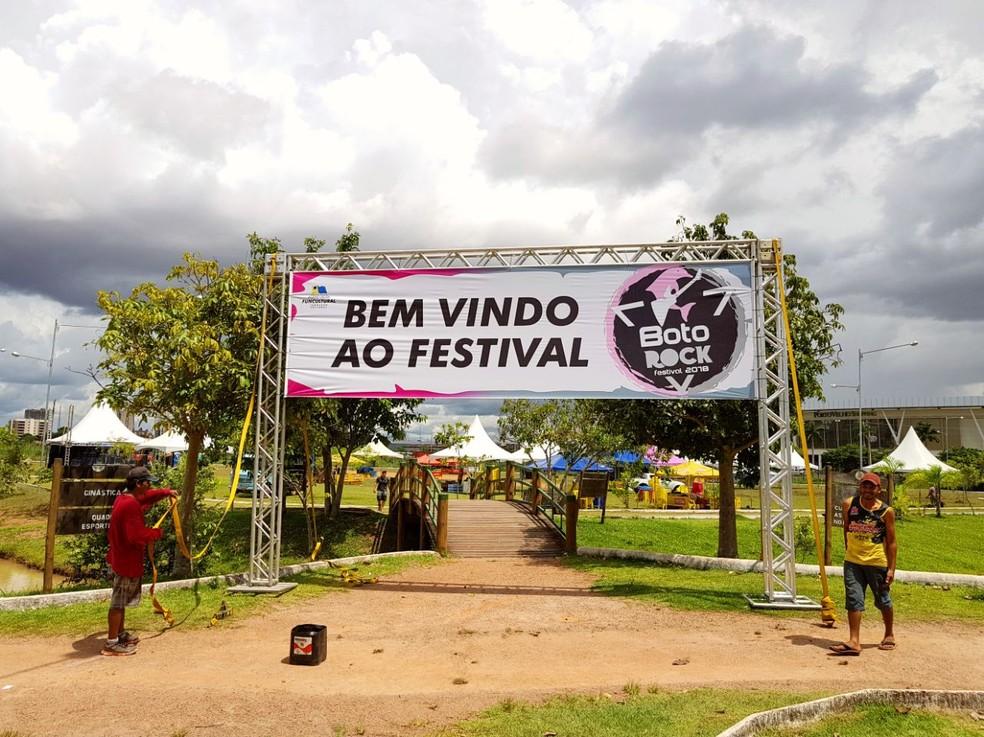 Festival Boto Rock em Porto Velho, em 2018 — Foto: Emília Araújo/Arquivo pessoal