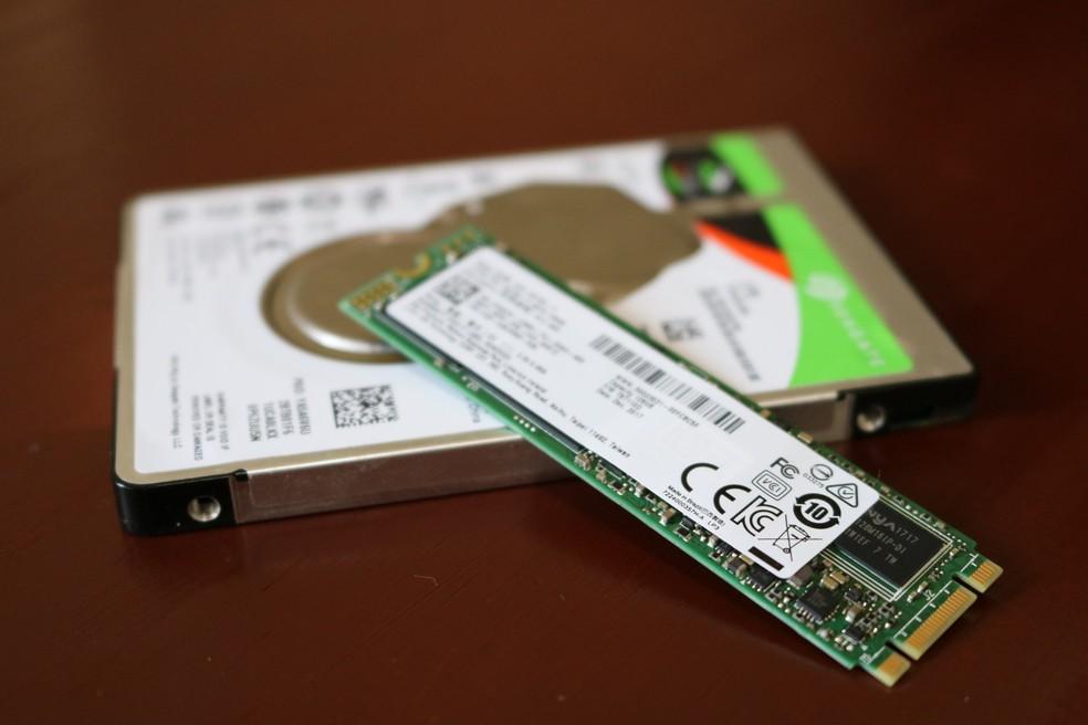 Procure combinar HDs de alta capacidade com SSDs rápidos par aum sistema mais eficiente — Foto: Filipe Garrett/TechTudo