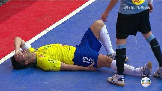 Falcão se machuca, mas seleção brasileira goleia o Uruguai em amistoso
