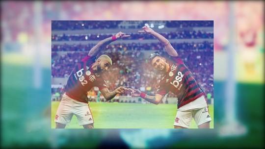 Espião Estatístico: duplas de Arrascaeta com Gabigol e Bruno Henrique são as mais goleadoras