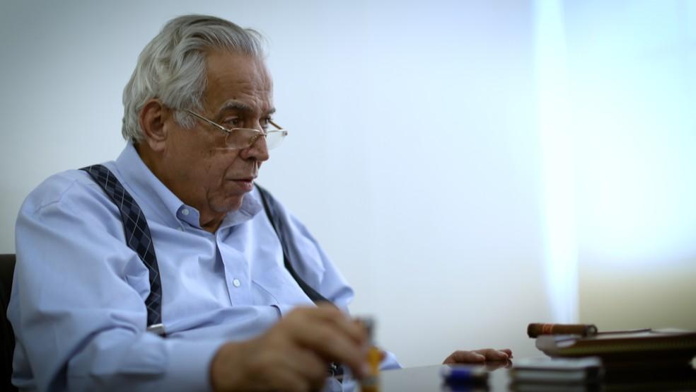 Eurico Miranda, presidente do Vasco (Foto: Leonardo Magliano)