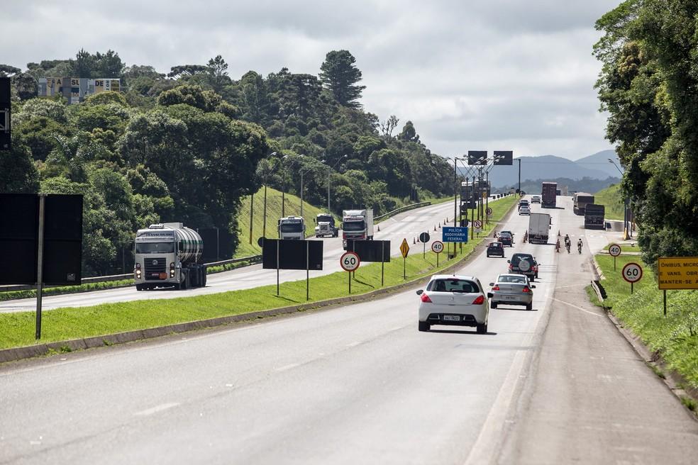 Ecovia anunciou retorno das tarifas de pedágio na BR-277, após cumprir descontos previstos em acordo de leniência — Foto: Divulgação/Ecovia