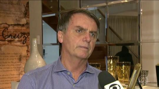 Jair Bolsonaro (PSL) fala sobre questões de saneamento básico