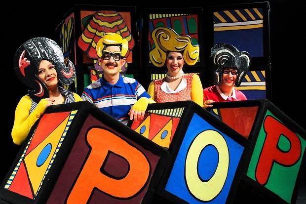 A peça POP da Cia Noz será parte do Festival Crescer (Foto: Fellipe Oliveira/Divulgação)