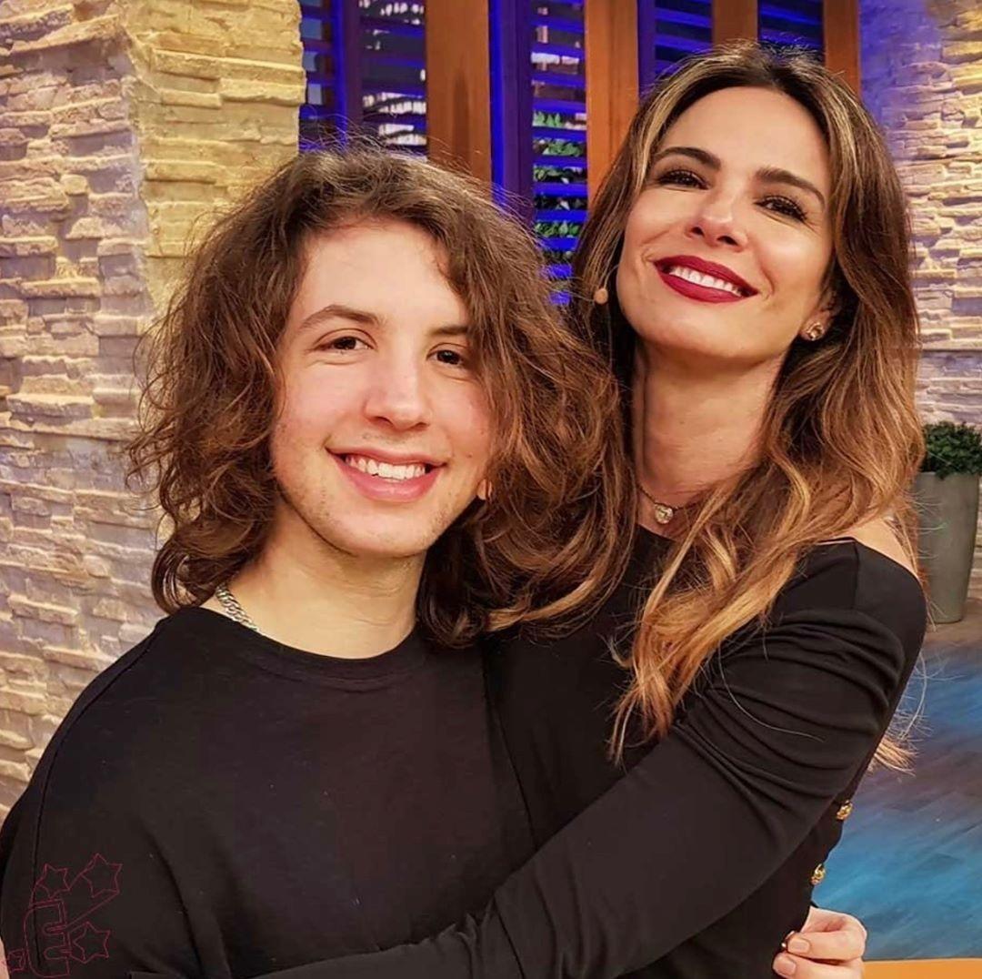 Lucas e Luciana (Foto: Reprodução)