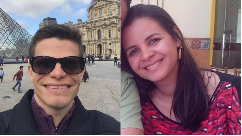 Os irmãos Renato e Lina Carla estão internados em Teresina — Foto: Reprodução