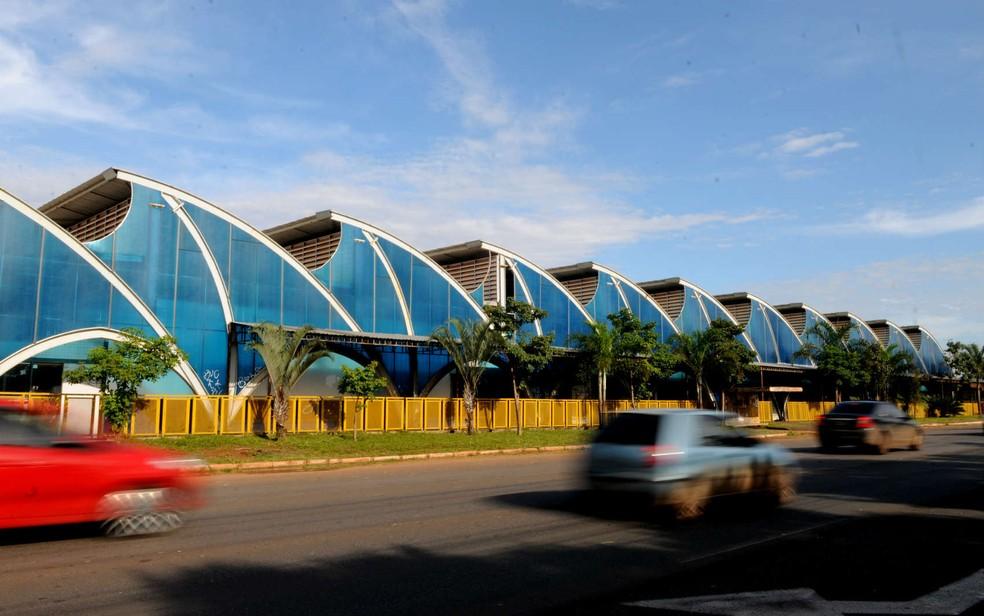 Área externa do Shopping Popular de Brasília (Foto: Tony Winston/Agência Brasília)