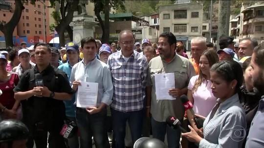 Guaidó desafia Maduro com marcha em direção a quartéis na Venezuela e pede manifestação sem confronto