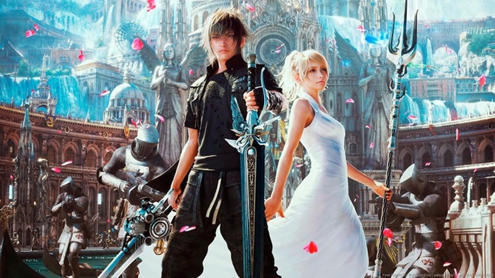 Final Fantasy XV será um dos jogos do catálogo do Stadia a partir de novembro. — Foto: Divulgação/Square Enix