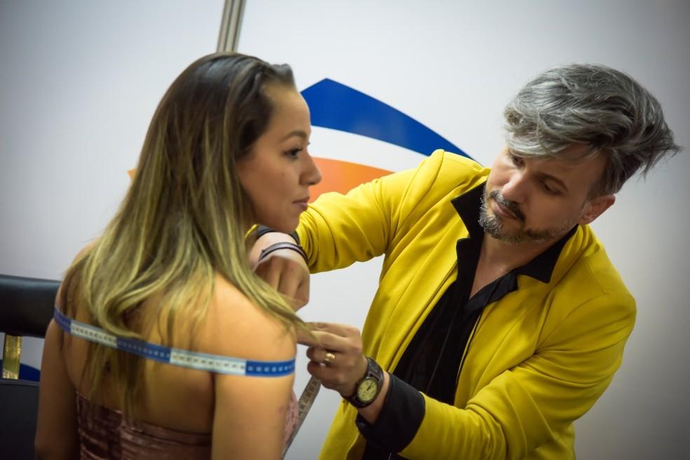Evento traz desde modelagem de roupa até coloração pessoal e oficinas de cabelos cacheados — Foto: Divulgação/ Senac-DF