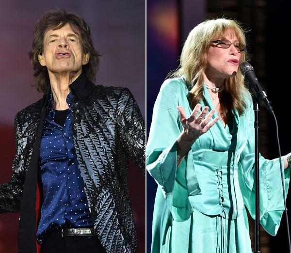 Dueto perdido entre Mick Jagger e Carly Simon é encontrado depois de mais de 45 anos (Foto: Getty Images)