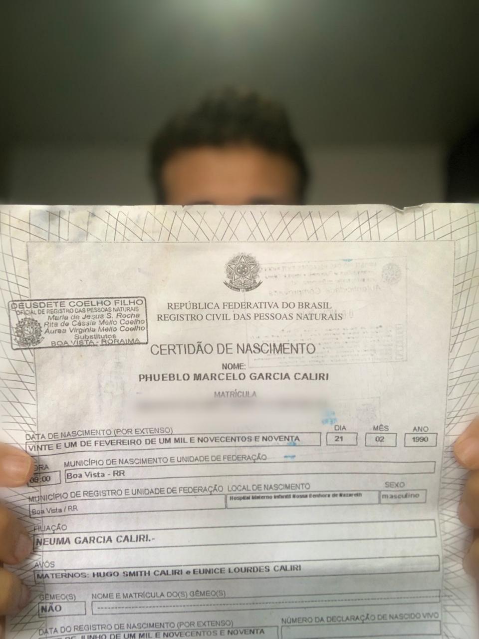 Roraima registra em seis meses mais de 600 crianças só com o nome da mãe na certidão