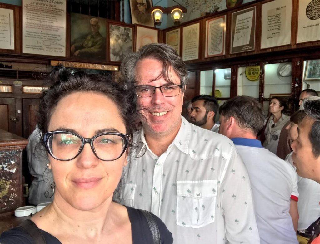 Marcia Tiburi e Rubens Casara