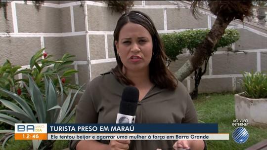 Na Bahia, hóspede é preso por importunação sexual após tentar beijar turista a força em hostel