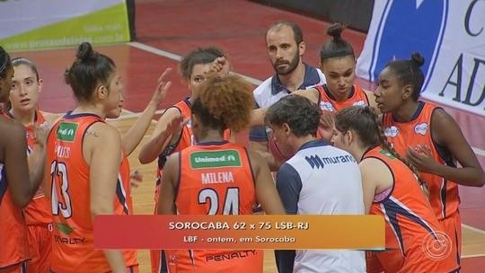 Sorocaba perde para a LSB do Rio pela Liga de Basquete Feminino