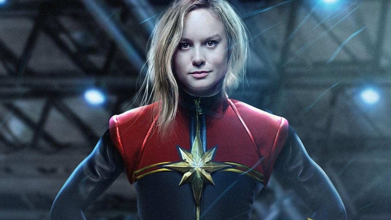 Montagem mostra Brie Larson como Carol Danvers, a Capitã Marvel (Foto: Divulgação)