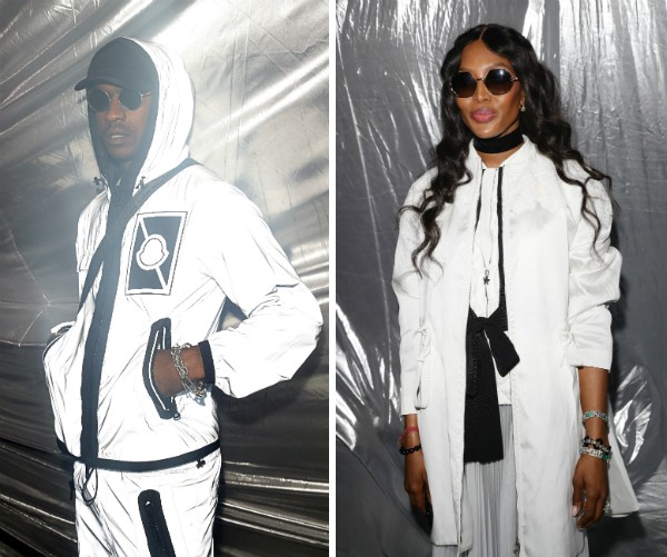 A modelo Naomi Campbell e o rapper Skepta (Foto: Getty Images)