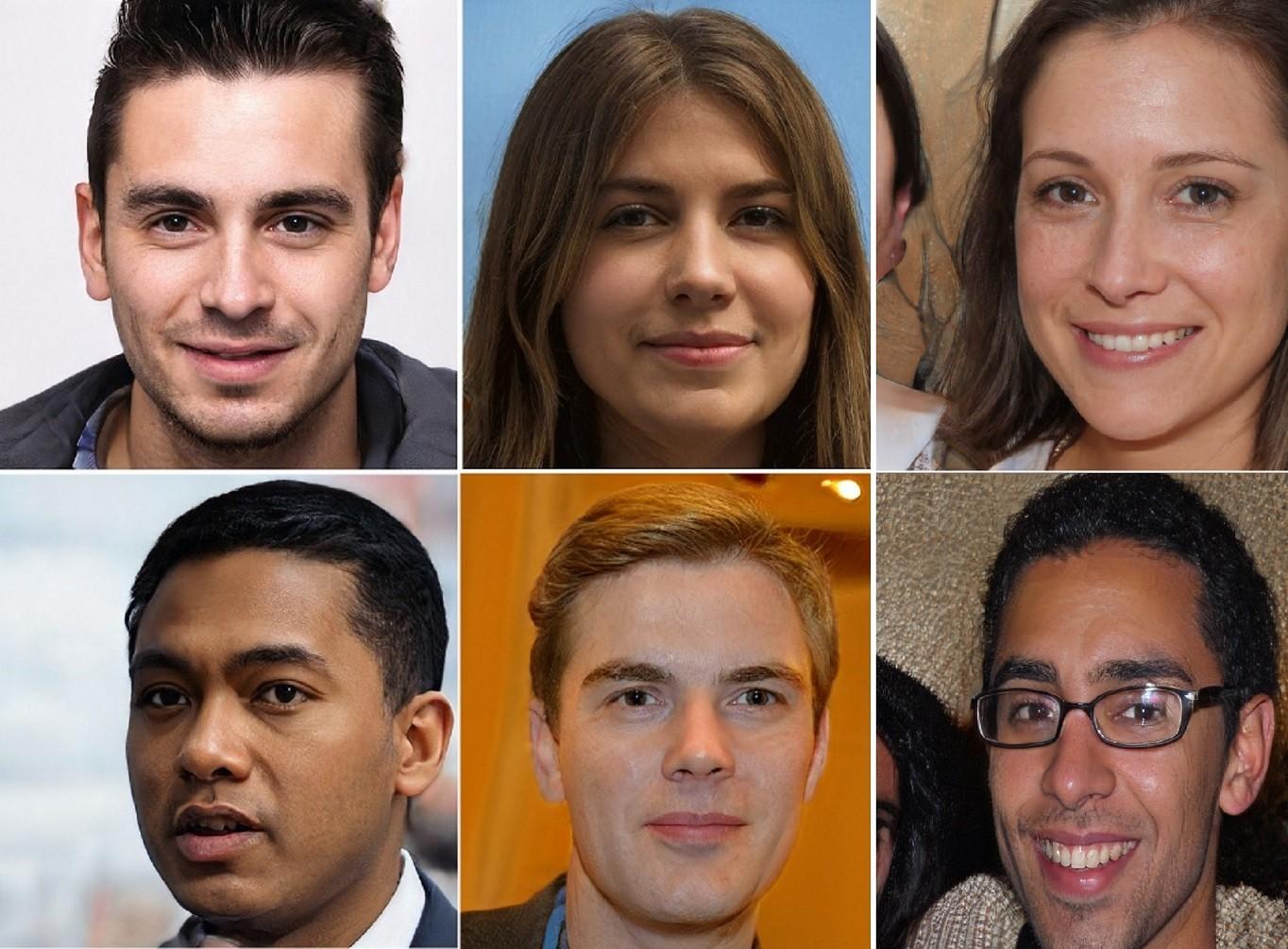 Todas essas pessoas não existem e foram criadas por Inteligência Artificial  (Foto: Reprodução/This Person Does Not Exist )