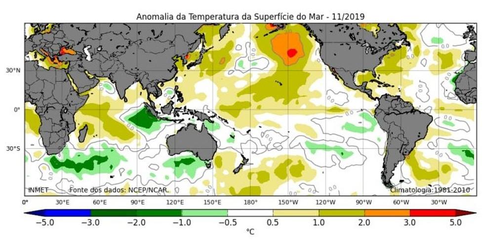 Professor disse que aumento de temperatura está vinculado à temperatura do mar — Foto: Divulgação/Uespi