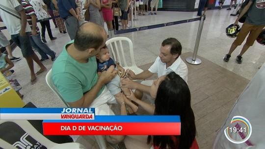 Vacinação fica abaixo da meta em São José e Taubaté