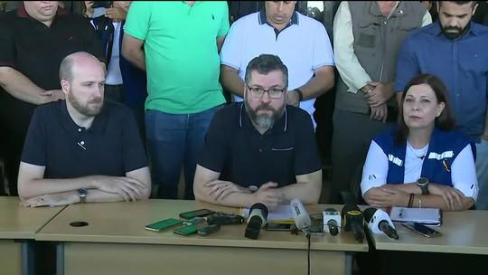 AO VIVO: Chanceler brasileiro, embaixadora da Venezuela e representante dos EUA falam em Roraima