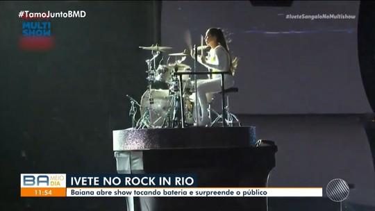 Ivete Sangalo agita público de mais de cem mil pessoas no Rock In Rio