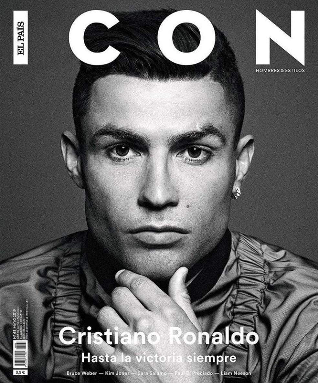 Cristiano Ronaldo concedeu entrevista a revista espanhola — Foto: Reprodução/Twitter