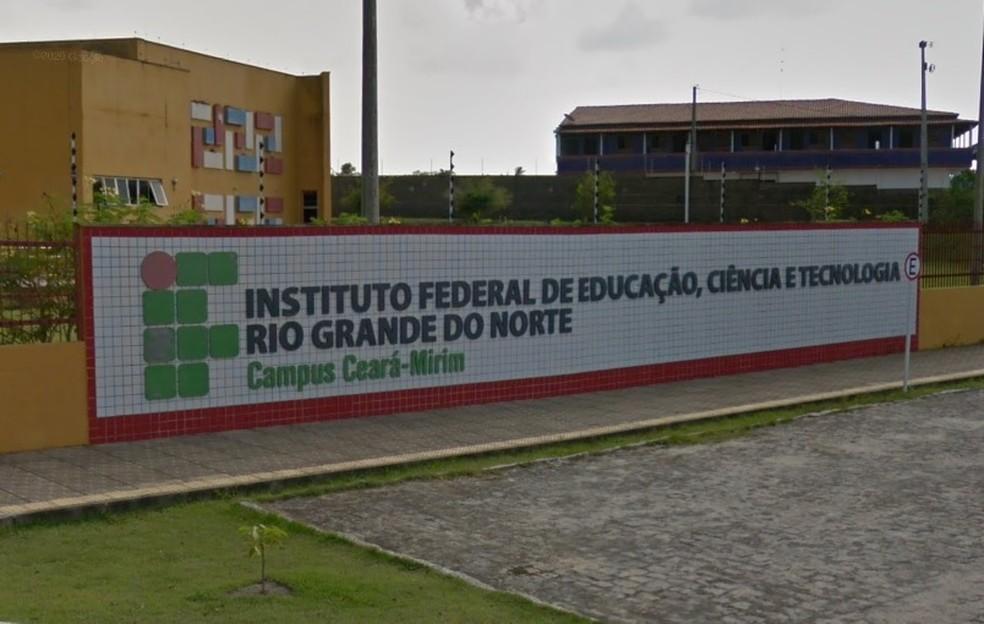 IFRN Campus Ceará-Mirim. — Foto: Reprodução