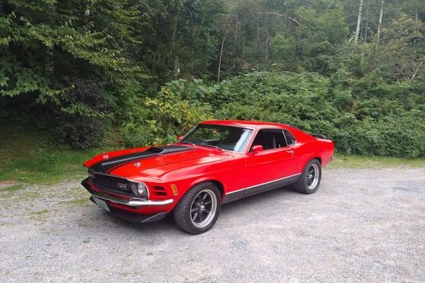 Ford Mustang Mach 1 foi apresentado em 1968 como modelo 1969 (Foto: Divulgação)