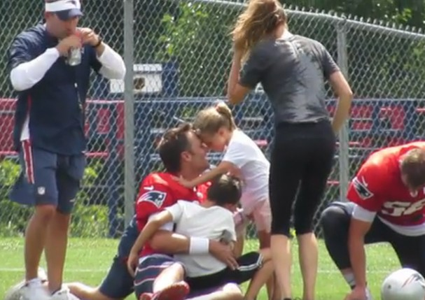 Tom Brady e Gisele Bündchen (Foto: Reprodução )