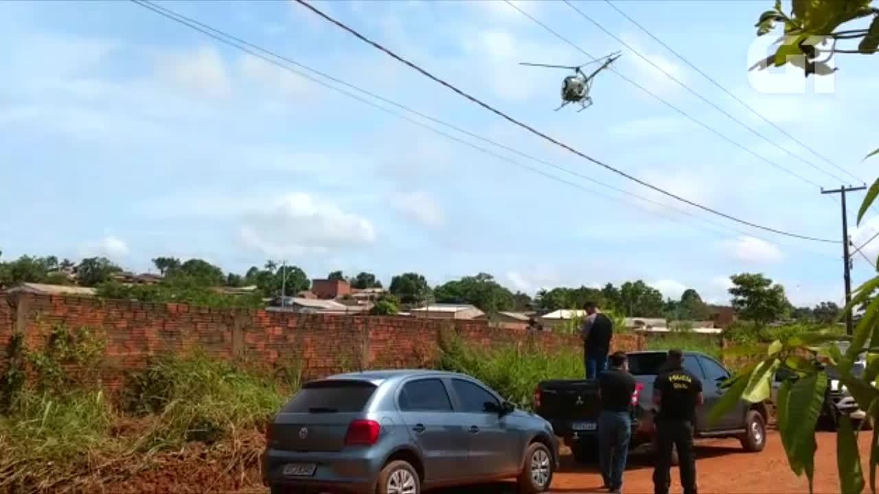 Veja a ação dos policiais em busca de uma corpo em terreno baldio na capital de RO
