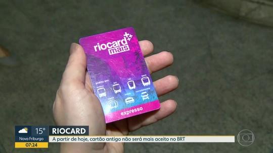 Acaba o prazo para o uso do Riocard Expresso no BRT