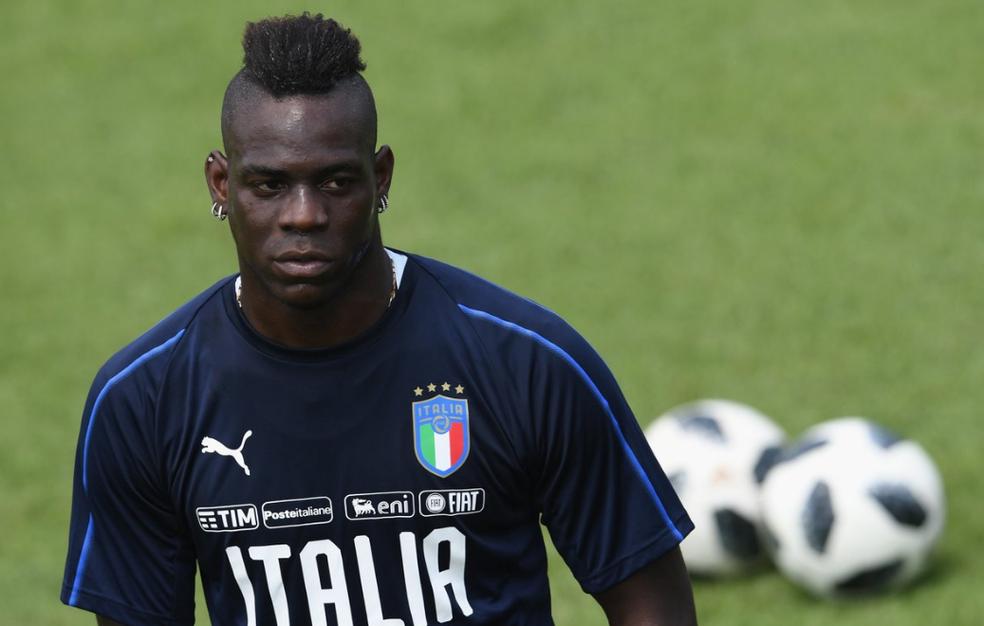 Balotelli está de volta à seleção italiana (Foto: Reprodução Twitter)
