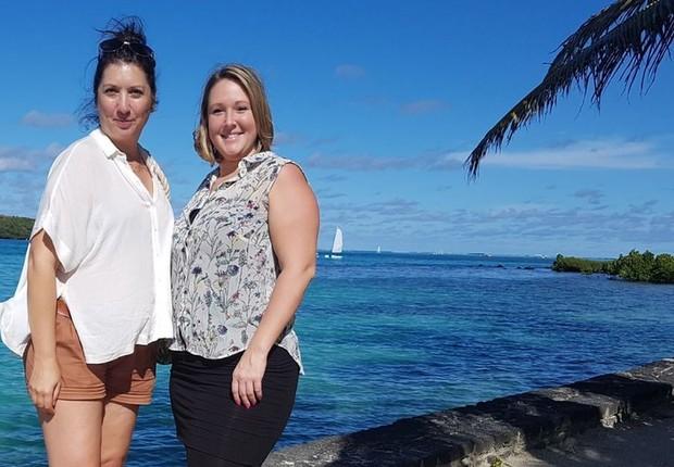 Os funcionários da ITC podem fazer três viagens por ano para destinos de luxo (Foto: ITC, via BBC News)