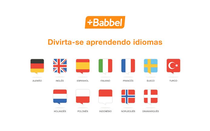 Babbel tem vários idiomas para aprender (Foto: Divulgação)