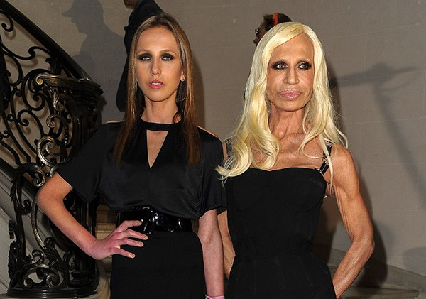 Allegra e Donatella Versace (Foto: Getty Images)
