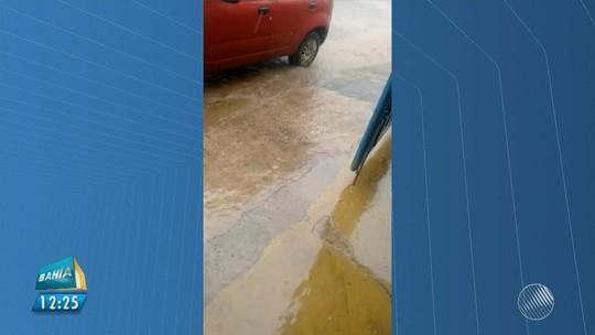 Chuva de granizo atinge cidade na Chapada Diamantina; vídeo