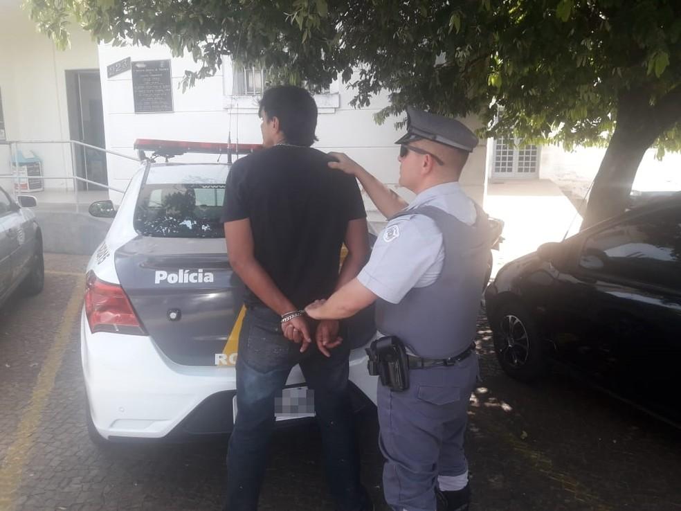 Homem foi preso em rodovia de Penápolis e confessou ter matado jovem — Foto: Arquivo Pessoal