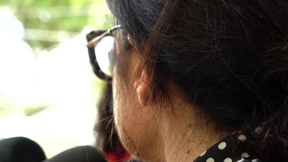 Esposa do deputado Marco Aurélio (PRTB) prestou queixa contra agressões físicas e psicológicas contra o marido — Foto: Reprodução/TV Globo
