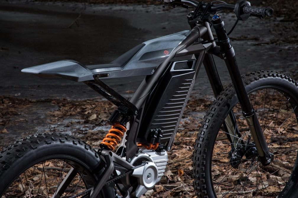 Bicicleta elétrica da Harley-Davidson — Foto: Harley-Davidson/Divulgação