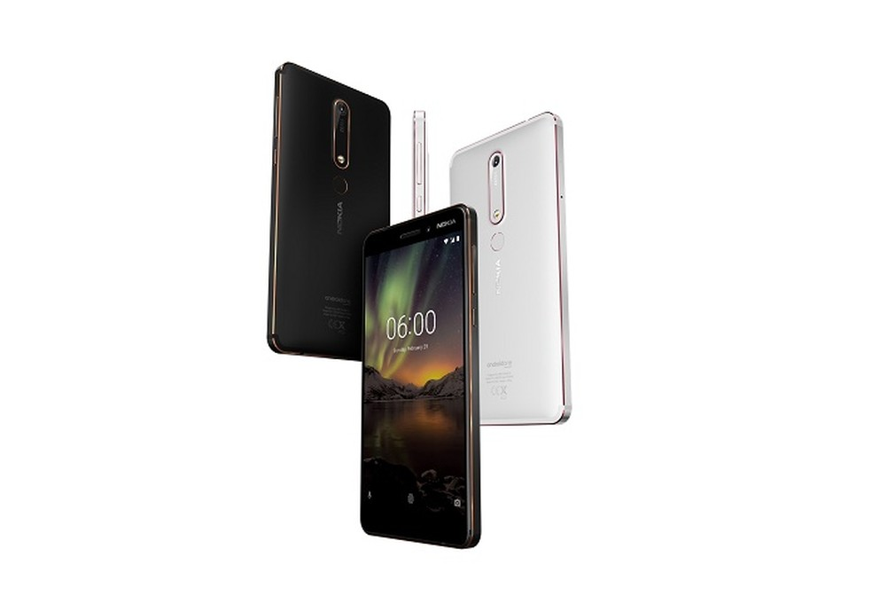Nokia 6 (2018) promete ser 30% mais rápido do que antecessor (Foto: Divulgação/Nokia)