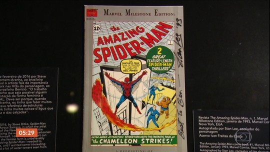 Quadrinhos são destaque de mostra em museu de São Paulo