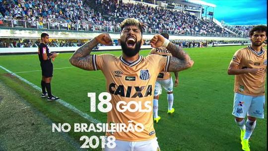 Combo Gabigol + Arrascaeta: Flamengo encorpa ataque com dois dos mais decisivos de 2018