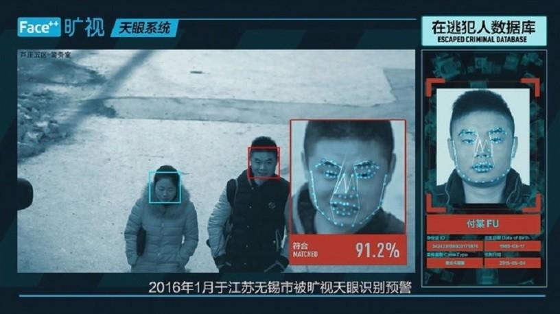 Sistema de reconhecimento facial já é utilizado na China (Foto: Divulgação)