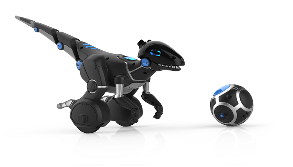 MiPosaur: o robô em formato de dinossauro (Foto: Divulgação/WowWee)
