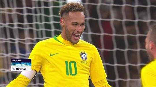 Brasil vence o Uruguai com gol de Neymar