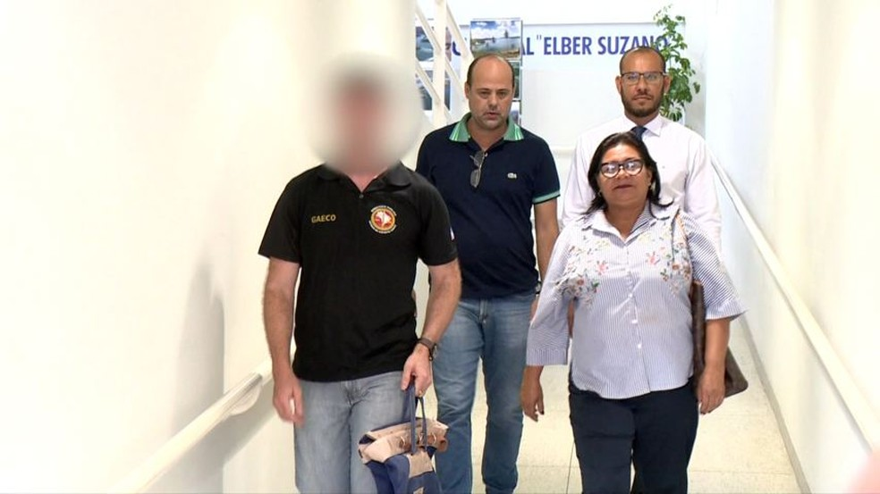Vreadora Rosinha foi presa na operação 'Salário Amigo' — Foto: Raphael Verly/TV Gazeta